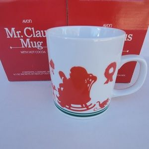 Avon Mr.Claus Ceramic Mug